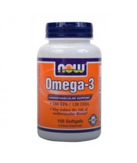Now Foods OMEGA-3 1000mg 100sgels