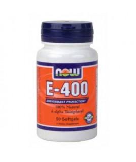 E-400IU Mixed Tocopherols / Unesterified 50sgels