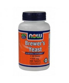 BREWERS YEAST 650mg 200tabs