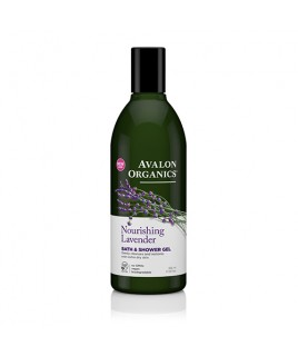 Avalon Organics Bath & Shower Gel Lavender 355ml