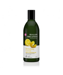 Avalon Organics Bath & Shower Gel Lemon 355ml