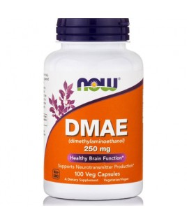 DMAE (Dimelthylaminoethanol) 250mg 100vcaps Now Foods
