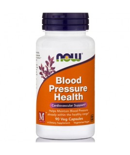 BLOOD PRESSURE HEALTH  90vcaps Now Foods