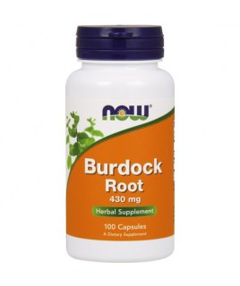 BURDOCK ROOT 430mg 100caps Now Foods