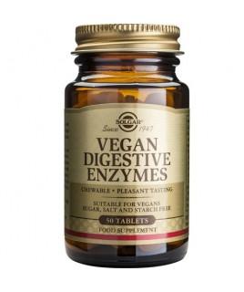 Solgar Vegan Digestive Enzymes 50 μασώμενες ταμπλέτες Solgar