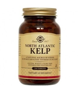 Solgar North Atlantic Kelp 250 ταμπλέτες Solgar