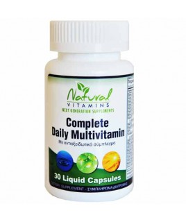Natural Vitamins Complete Daily Multivitamin 60 caps