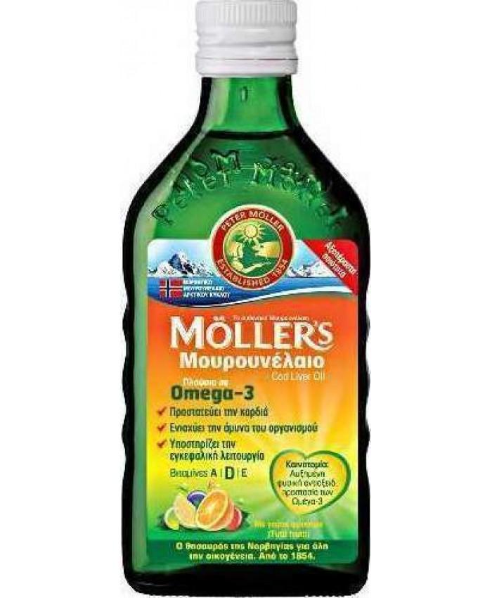 Moller's Μουρουνέλαιο Tutti Frutti 250ml Τροφιμα