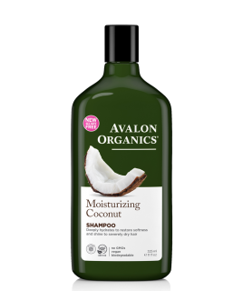 Avalon Organics Moisturizing Coconut Shampoo 325ml