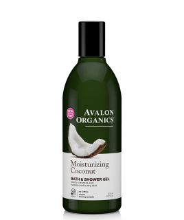 Avalon Organics Moisturizing Bath Shower Gel Coconut 335ml