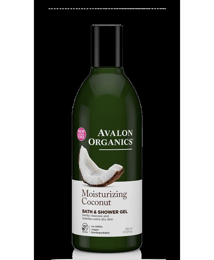 Avalon Organics Moisturizing Bath Shower Gel Coconut 335ml