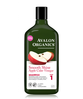 Avalon Organics Smooth Shine Apple Cider Vinegar Shampoo 325ml