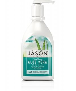 Jason Αφρόλουτρο με βιολογική καταπραϋντική Αλόη Βέρα 900ml