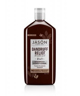 Jason Dandruff Relief Σαμπουάν και Μαλακτική 2σε1 κατά της πιτυρίδας 355ml