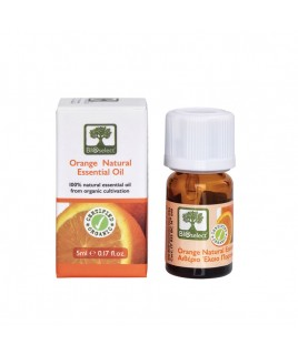 Bioselect Organics Αιθέριο Έλαιο Πορτοκάλι 5ml