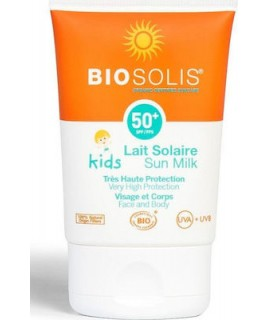 Biosolis Sun Milk for Face & Body Babies & Kids SPF50 50ml