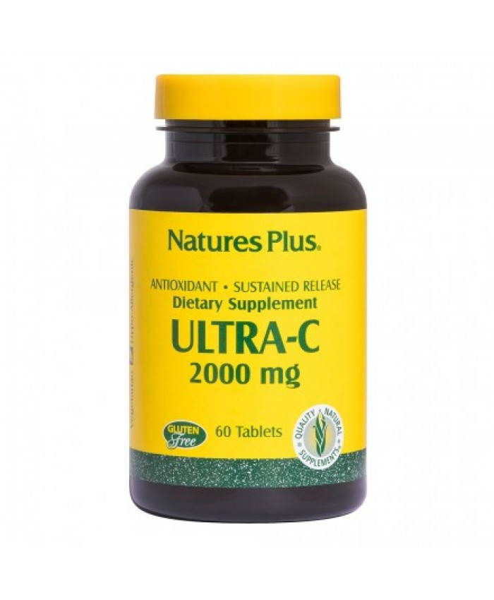 Nature's Plus Ultra-C 2000mg 60tabs