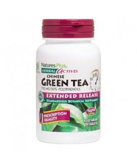 Nature's Plus Green Tea Chinese 750mg Extended Release 30tabs