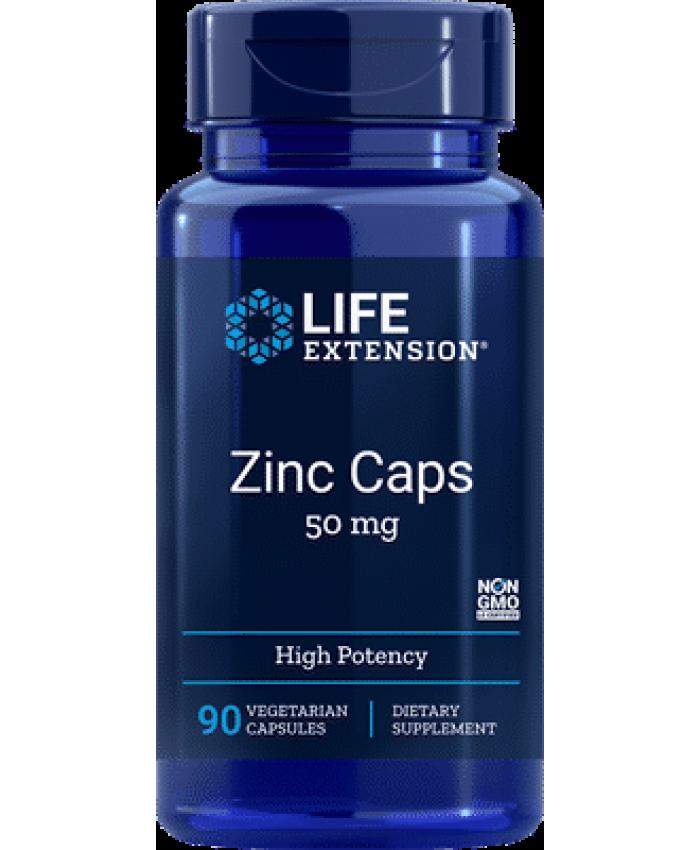 Life Extension Zinc Lozenges 24mg 60 παστίλιες
