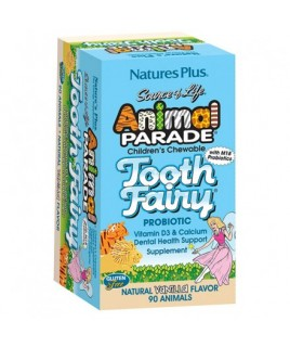 Nature's Plus Animal Fairy Parade Tooth 90 μασώμενες ταμπλέτες