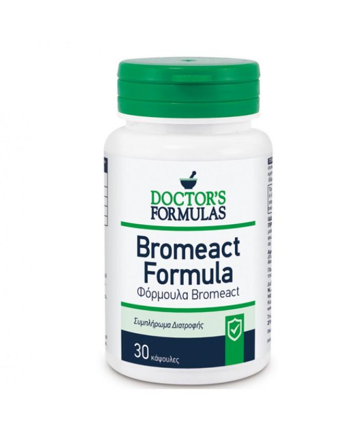 Doctor's Formulas Bromeact 30 κάψουλες