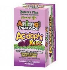 Nature's Plus Animal Parade Acidophikidz Berry Flavor 90 μασώμενες ταμπλέτες