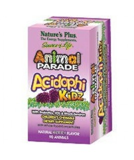 Nature's Plus Animal Parade Acidophikidz Berry Flavor 90 μασώμενες ταμπλέτες