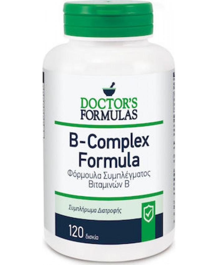 Doctor's Formulas B-Complex Formula 120 ταμπλέτες