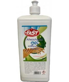 Fast αλκοολούχο gel καθαρισμού χεριών 1lt Ατομική Υγιεινή