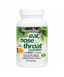 Nature's Plus Ear Nose & Throat 60Lozenges