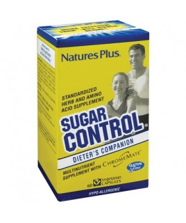 Nature's Plus Control Sugar 60vcaps