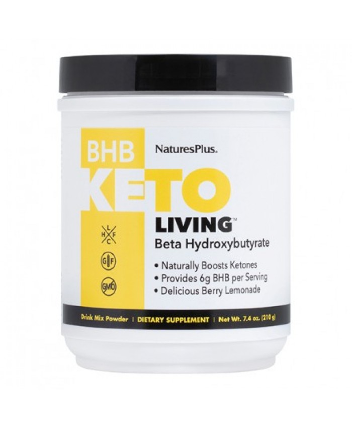 Nature's Plus Keto Living BHB 210gr Berry Lemonade