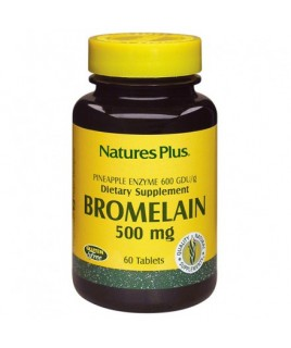 Nature's Plus Bromelain 500mg 60tabs