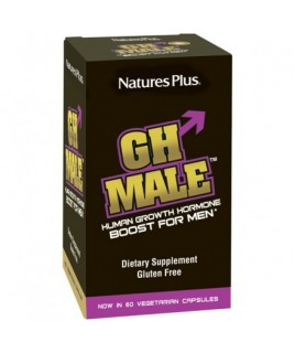 Nature's Plus GH Male Human Growth Hormone Boost For Men 60caps