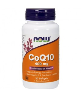 CoQ10 30mg 120vcaps Now Foods
