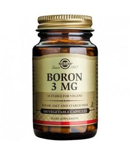 Solgar Boron 3mg 100 φυτικές κάψουλες Solgar