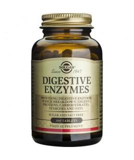 Solgar Vegan Digestive Enzymes 100 ταμπλέτες Solgar