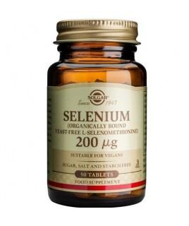 Solgar Selenium 200μg 50 ταμπλέτες Solgar