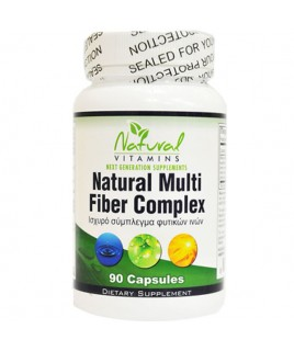 Natural Vitamins Natural Multi Fiber Complex 90tabs