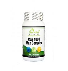 Natural Vitamins CLA Formula 1000mg with Fish Oil 60tabs
