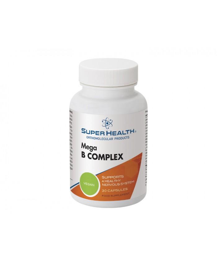 Super Health Mega B Complex 30caps