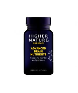 Higher Nature Brain Nutrients 90tabs