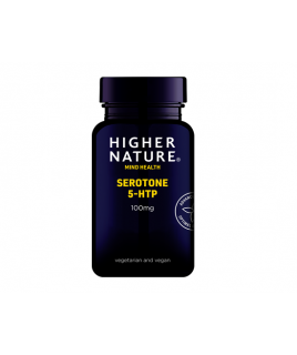 Higher Nature Serotone 5-HTP 100mg 30vcaps