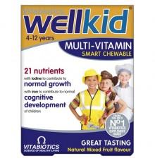Vitabiotics Wellkid 30 Chewable tabs