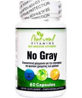 Natural Vitamins No Gray 60caps