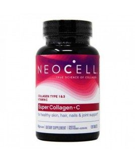 NeoCell Super Collagen +C 1&3 6.000mg - 120 ταμπλέτες Neocell