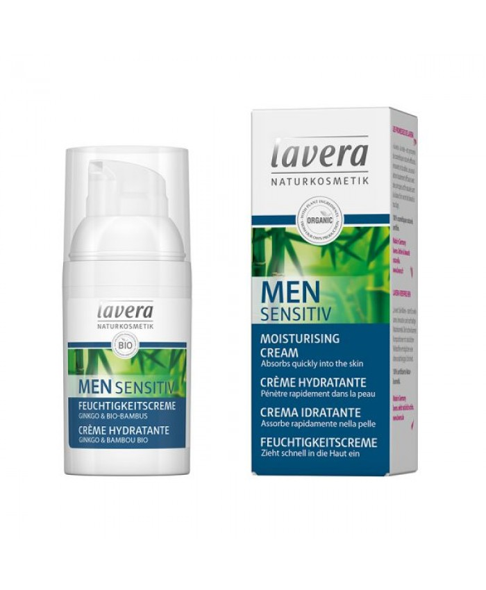 Lavera Men Sensitiv Ενυδατική Κρέμα Προσώπου για κάθε χρήση 30ml
