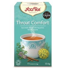 YOGI TEA THROAT COMFORT ΒΙΟ 17 φακ.