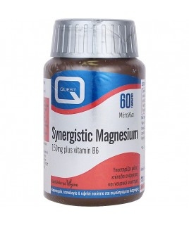 SYNERGISTIC MAGNESIUM 150mg with vitamin B6 60 tabs Quest